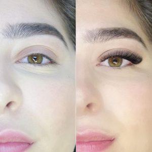 3d natural russian volume eyelash extensions near me