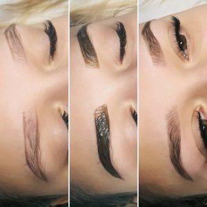 best eyebrow shape tint north shore albany