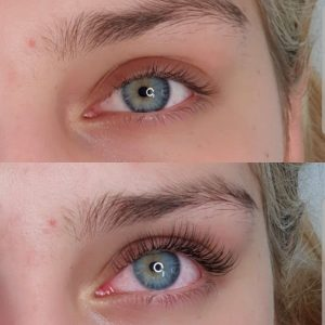 classic eyelash extensions before after